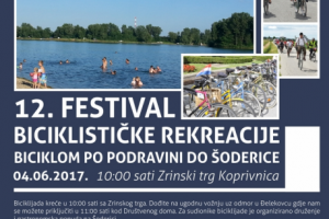 BICIKLIJADA – Biciklom do Šoderice u nedjelju 04.06.2017.